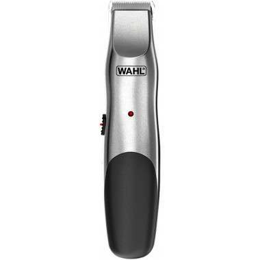 Wahl 9918-1117 Groomsman Elite Brushed Chrome Mains/Rechargeable Beard Trimmer