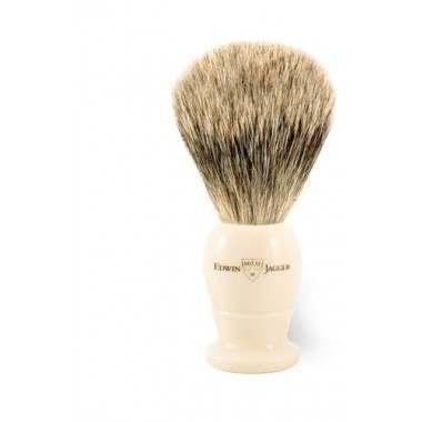 Edwin Jagger PPS-1EJ877 Imitation Ivory Best Badger Medium Shaving Brush