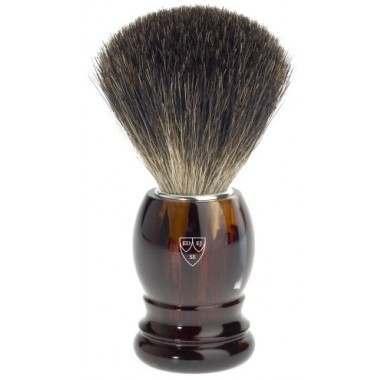 Edwin Jagger PPS-81P23 Imitation Tortoise Shell Shaving Brush