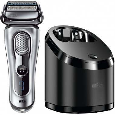 Braun 9095cc Series 9 Wet & Dry with Clean & Charge Station Men's Electric Shaver
