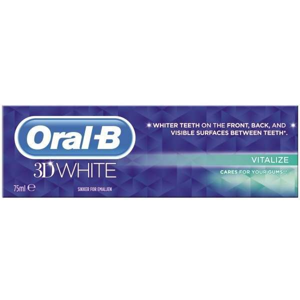 oral b 81433177 3d white vitalize toothpaste. Black Bedroom Furniture Sets. Home Design Ideas