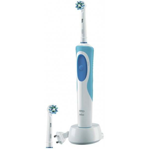 oral b 80264838 vitality plus cross action electric toothbrush. Black Bedroom Furniture Sets. Home Design Ideas