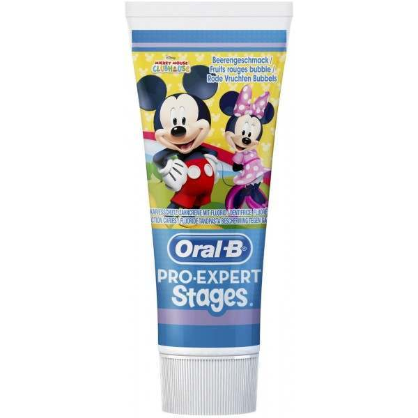 Oral-B 81470887 Pro-Expert Stages Mickey & Minnie Toothpaste