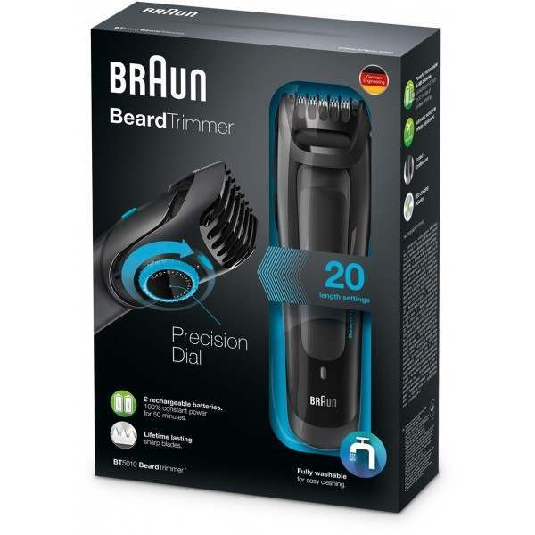 braun bt5010 beard trimmer. Black Bedroom Furniture Sets. Home Design Ideas
