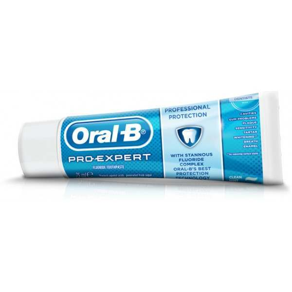 oral b 81522591 pro expert professional protection clean mint toothpaste. Black Bedroom Furniture Sets. Home Design Ideas