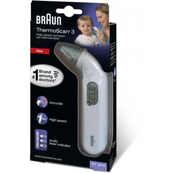 braun thermoscan thermometer manual 6022
