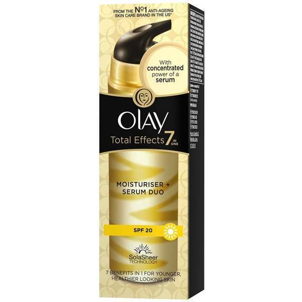 Olay Total Effects 7 In 1 Serum Duo Amp Moisturiser