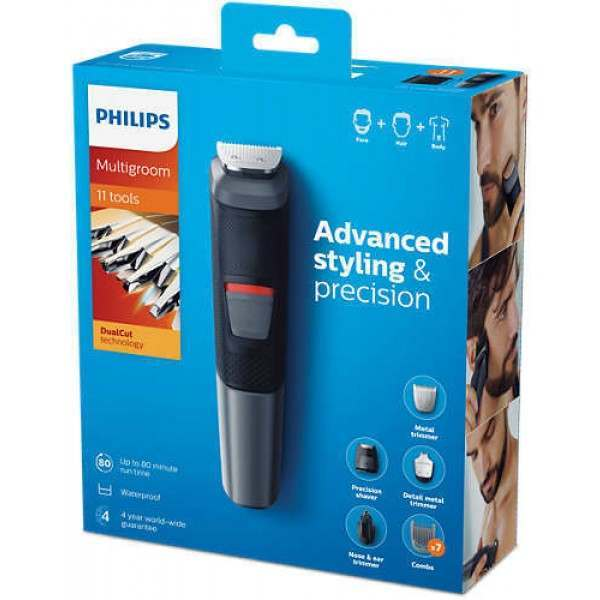 philips mg5730 13 11 in 1 face beard body grooming kit. Black Bedroom Furniture Sets. Home Design Ideas