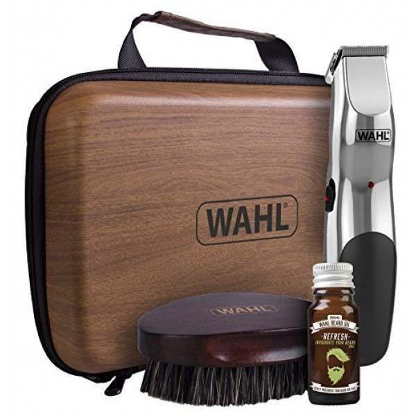 wahl 9916 802 rechargeable beard grooming kit. Black Bedroom Furniture Sets. Home Design Ideas