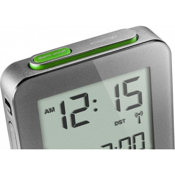 braun radio controlled alarm clock instructions