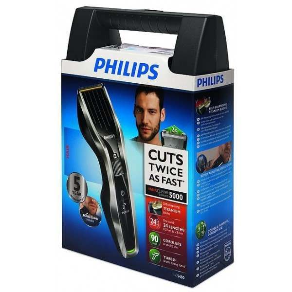 Philips hc545083 series 5000 mainsrechargeable hair clipper solutioingenieria Images