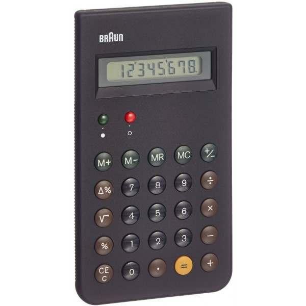 Braun Bne001 Black Calculator