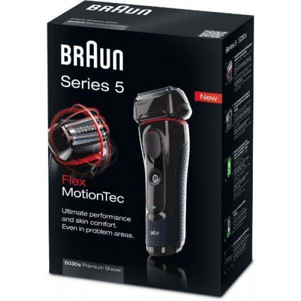 braun 5030s series 5 men 39 s electric shaver. Black Bedroom Furniture Sets. Home Design Ideas
