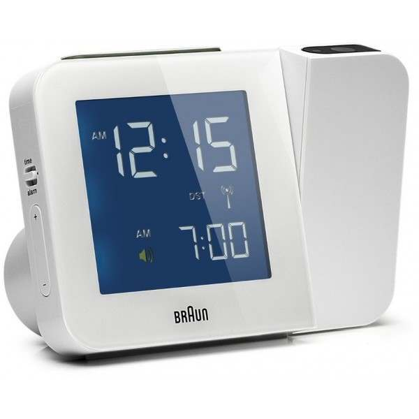 braun bnc015whuk rc white digital radio controlled. Black Bedroom Furniture Sets. Home Design Ideas