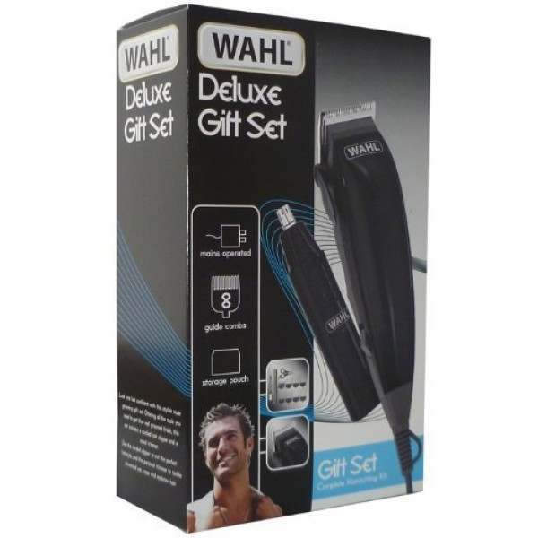 wahl 79305 821 hair clipper and trimmer deluxe grooming kit. Black Bedroom Furniture Sets. Home Design Ideas