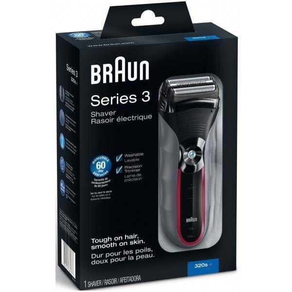 Braun 320 s-4 Men's Electric Shaver