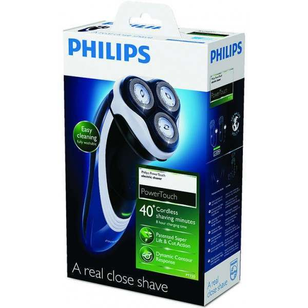 philips pt720 15 powertouch dry men 39 s electric shaver. Black Bedroom Furniture Sets. Home Design Ideas