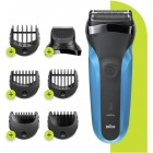 Braun S310BT Series 3 Shave & Style Men's Electric Shaver