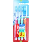 Colgate TOCOL665 Triple Action 4 Pack Toothbrush
