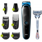Braun MGK3242 7 in 1 Hair and Beard Trimming Grooming Kit