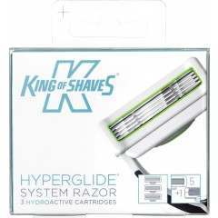 King of Shaves 2KS-121740 3 Pack HyperGlide Blade Pack