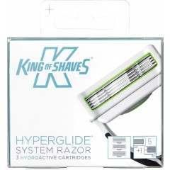 King of Shaves 2KS-121740 3 Pack HyperGlide Blade Pack