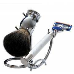 Razor MD igrprazcrst iGRIP Chrome Shaving Set