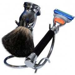 Razor MD igrprazBKst iGRIP Black Shaving Set