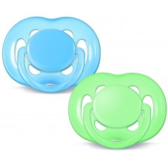 Philips Avent SCF178/27 (6-18m) Pack of 2 Boys Freeflow Soother