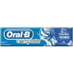 Oral-B 81586982 Complete Extra Fresh + Mouthwash Toothpaste