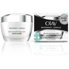 Olay 81454626 Regenerist Luminous Skin Tone Perfecting Cream Moisturiser