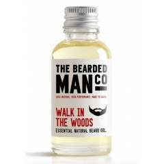 The Bearded Man Co. 10ml Walk In The Woods Essential Natural Beard Oil
