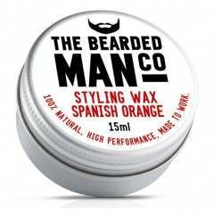 The Bearded Man Co. Spanish Orange Styling Moustache Wax