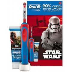 Oral-B 81611653 Pro-Expert Stages Toothpaste & Stages Vitality Star Wars Rechargeable Electric Toothbrush