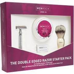 Men Rock MRDEGP The Double Edged Razor Shaving Start Up Kit