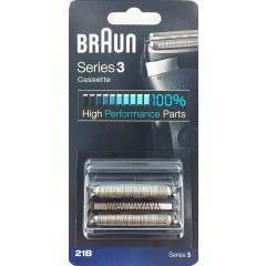 Braun 21B Series 3 Black Cassette Foil & Cutter Pack