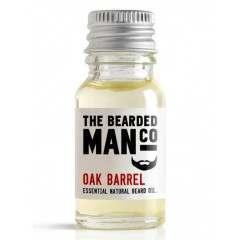 The Bearded Man Co. 10ml Oak Barrel Essential Natural Beard Oil