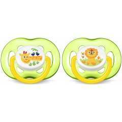 Philips SCF186/23 Freeflow Pack of 2 Soother