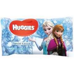 Huggies TOHUG026 56 Wipes Frozen Baby Wipes