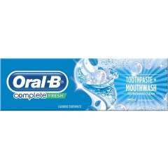 Oral-B 81587059 Complete Fresh Mouthwash + Toothpaste
