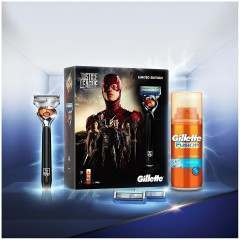 Gillette 81628126 Justice League ProGlide Flexball Gift Set
