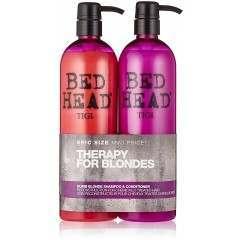 TIGI TOTIG151A Bead Head 2 x 750ml Therapy For Blondes Conditioner & Shampoo Set