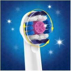 Oral-B EB18P-1 3D White 1 Pack Pink Replacement Toothbrush Heads