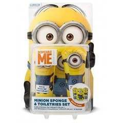 Minions GSKIMIN144 Sponge & Toiletries Gift Set