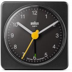 Braun BNC002 Black Square Travel Alarm Clock
