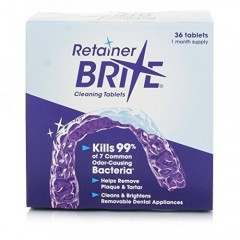 Retainer Brite Pack of 36 Cleaning Tablets