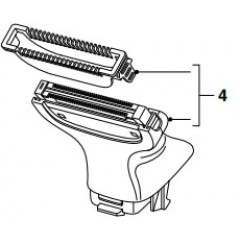 Philips 422203632461 Body Groom Assembly