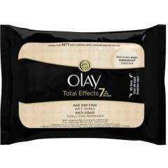 Olay 81504654 Total Effects 7 in 1 Age-Defying  20 Cleansing Wipes