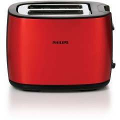Philips HD2628/40 2-Slot Red Toaster