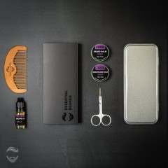 Essential Beards Lavender 8 Piece Gift Set